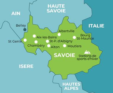 Carte Le Pélican Savoie